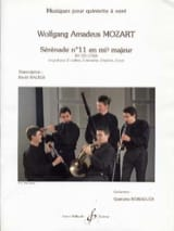 Sérénade N° 11 en Mib Maj. Kv 375 1782) MOZART laflutedepan.com