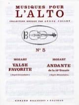 Valse favorite / Andante de la 15e Sonate - laflutedepan.com