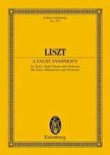 Franz Liszt - Eine Faust-Symphony - Conductor - Sheet Music - di-arezzo.co.uk