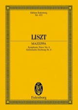 Franz Liszt - Mazeppa, Symphonic Poem N ° 6 - Sheet Music - di-arezzo.co.uk