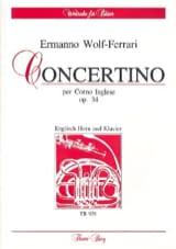 Concertino op. 34 –English Horn Klavier - laflutedepan.com