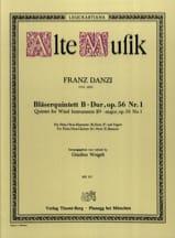 Bläserquintett B-Dur op. 56 Nr. 1 –Stimmen - laflutedepan.com