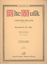 Vincenzo Bellini - Konzert für Oboe und Orchester Es-Dur - Partition - di-arezzo.fr