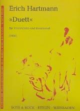 Duett - Violoncelle Kontrabass Erich Hartmann laflutedepan.com