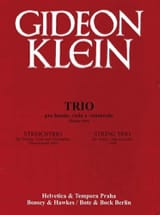 Streichtrio (1944) –Partitur + Stimmen Gideon Klein laflutedepan.com