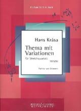 Thema mit Variationen –Partitur + Stimmen - laflutedepan.com