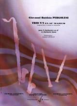 Trio n° 2 en sib majeur - Trio clarinettes laflutedepan.com