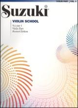 Suzuki - Violin School Volume 4 – Violin Part - Partition - di-arezzo.fr