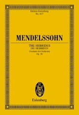 MENDELSSOHN - Die Hebriden, op. 26 - Open - Partitur - Sheet Music - di-arezzo.co.uk