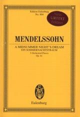 Ein Sommernachtstraum, 5 Stücke MENDELSSOHN Partition laflutedepan.com