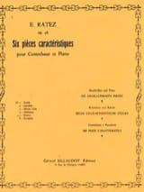 Scherzo op. 46 n° 5 - extr. 6 Pièces Caractéristiques laflutedepan.com