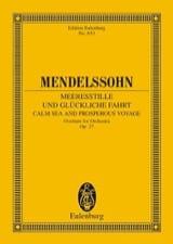 Meeresstille und glückliche Fahrt, op. 27 MENDELSSOHN laflutedepan.com