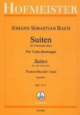Suiten Für Violoncello Allein Heft 2 BACH Partition laflutedepan.com