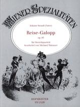 Johann (Père) Strauss - Reise-Galopp op. 85 – Streichquartett - Partition - di-arezzo.fr