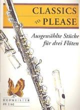 Classics to please – 3 Flöten Doris Geller Partition laflutedepan.com