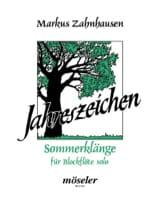 Sommerklänge Markus Zahnhausen Partition laflutedepan.com
