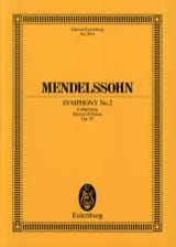 Symphonie Nr. 2 B-Dur op. 52 -Partitur MENDELSSOHN laflutedepan.com