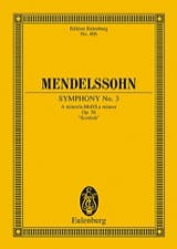 MENDELSSOHN - Symphony Nr. 3 A-Moll - Partitur - Sheet Music - di-arezzo.co.uk