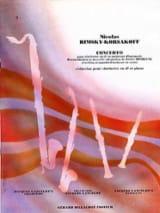 Nicolaï Rimsky-Korsakov - Clarinet Concerto - Sheet Music - di-arezzo.co.uk