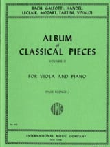 Album of classical pieces, Volume 2 Paul Klengel laflutedepan.com