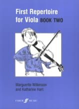 Wilkinson Marguerite / Hart Katherine - First repertoire for Viola – Book 2 - Partition - di-arezzo.fr