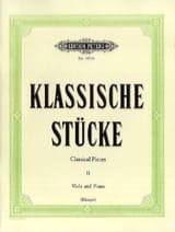 Klassische Stücke, Bd. 2 - Viola Partition Alto - laflutedepan.com