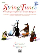 String Tunes - Viola Samuel Applebaum Partition laflutedepan.com