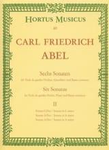 6 sonates - cahier 2 - Viola da gamba o. Violine, Querflöte laflutedepan
