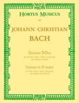 Johann Christian Bach - Quintett D-Dur –Flöte Oboe Violine Violoncello Cembalo - Partition - di-arezzo.fr