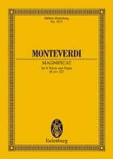 Claudio Monteverdi - Magnificat - Partition - di-arezzo.fr