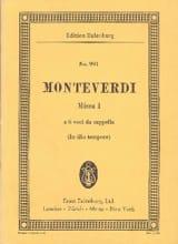 Claudio Monteverdi - Messe Nr. 1 C-Dur - Partition - di-arezzo.fr