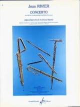 Concerto pour flûte - Flûte piano Jean Rivier laflutedepan.com