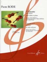Concerto Violon n° 7 la mineur op. 8 Pierre Rode laflutedepan.com