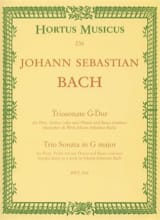 BACH - Triosonate G-Dur BWV 1038 - Violine fl o. 2 Flöten u. Bc - Sheet Music - di-arezzo.co.uk