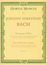 Triosonate G-Dur (BWV 1038) - Flöte Violine (o. 2 Flöten) u. Bc laflutedepan.com