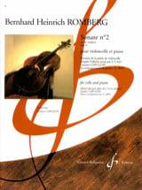 Sonate en ut majeur n° 2 Op. 43 Bernhard Romberg laflutedepan.com