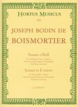 Sonate e-moll - Flöte Oboe, Violine, Viola da Gamba Fagott, Cello u. Bc laflutedepan.com