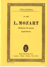 Jagd-Sinfonie G-Dur Leopold Mozart Partition laflutedepan.com