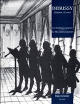 Claude Debussy - Children's Corner –Holzbläserquintett - Partitur + Stimmen - Partition - di-arezzo.fr