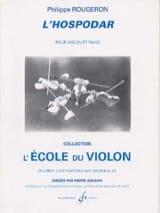 L'hospodar Philippe Rougeron Partition Violon - laflutedepan.com