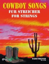 Cowboy Songs for Strings George A. Speckert Partition laflutedepan
