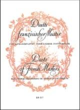 Duette französischer Meister -2 Altblockflöten laflutedepan.com