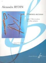 Chanson Ancienne - 4 Flûtes En Ut-Piano laflutedepan.com