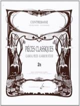 Bernard Salles - Pieces classiques, vol 2B – Contrebasse - Partition - di-arezzo.fr