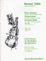 Bernard Salles - Pièces classiques, vol 3b – Contrebasse - Partition - di-arezzo.fr