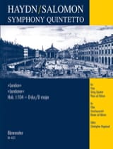 Haydn Joseph / Salomon Johann Peter - Symphony Quintetto London Hob. 1 : 104 – Partitur + Stimmen - Partition - di-arezzo.fr