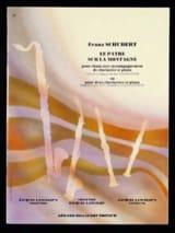 Le pâtre sur la montagne op. 129 - 2 clarinettes et piano laflutedepan.com