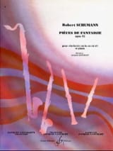 SCHUMANN - Fantasy Pieces op. 73 - Sheet Music - di-arezzo.co.uk