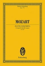 Flötenkonzert D-Dur KV 314 - Partitur MOZART laflutedepan.com