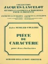 Pièce de Caractère Jules Semler-Collery Partition laflutedepan.com
